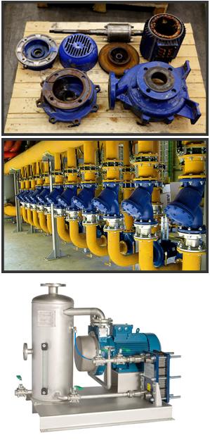 riparazione pompe industriali