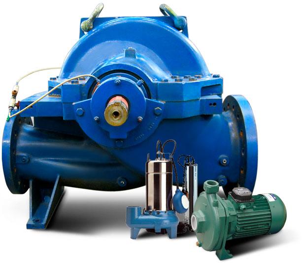 motori pompe