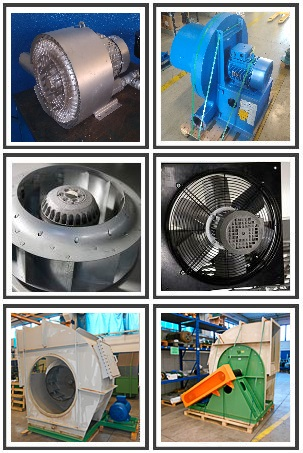 riparazione ventilatori